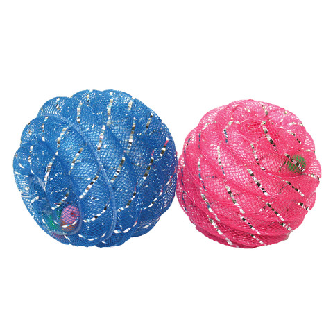 Happy Pet Jazzles Ball Cat Toy  To 18 X