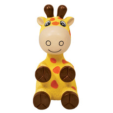 Kong Wiggi Giraffee Latex Dog Toy Large