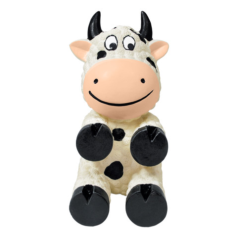 Kong Wiggi Cow Latex Dog Toy Small