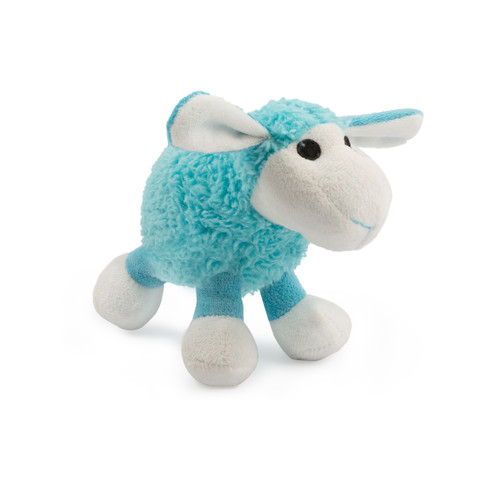 Ancol Small Bite Plush Blue Lamb Dog Toy