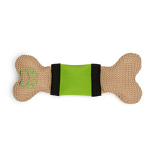 Ancol Bright Stripe Bone Dog Toy