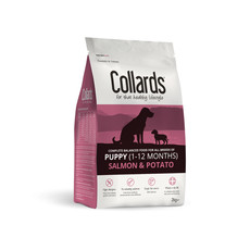 Collards Hypoallergenic Puppy Salmon And Potato Dog Food 2kg