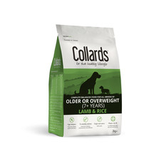 Collards Hypoallergenic Older Or Overweight Lamb And Rice Dog Food 2kg