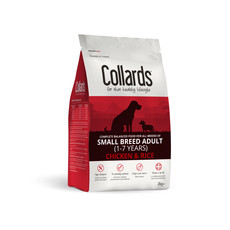 Collards Hypoallergenic Adult Small Breed Chicken And Rice Dog Food 2kg
