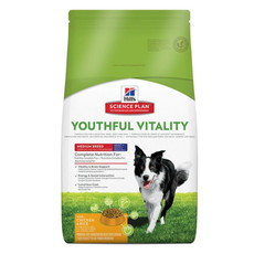Hills Science Plan Canine Youthful Vitality Adult And Senior 7+ Medium With Chicken 2.5kg