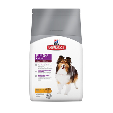 Hills Science Plan Canine Adult Sensitive Stomach & Skin With Chicken 3kg