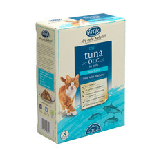 Hilife It's Only Natural Grain Free Cat Pouches The Tuna One In Jelly 8x70g