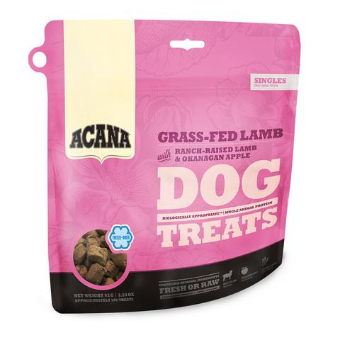 Acana Grain Free Grass-fed Lamb Freeze Dried Natural Dog Treats 35g