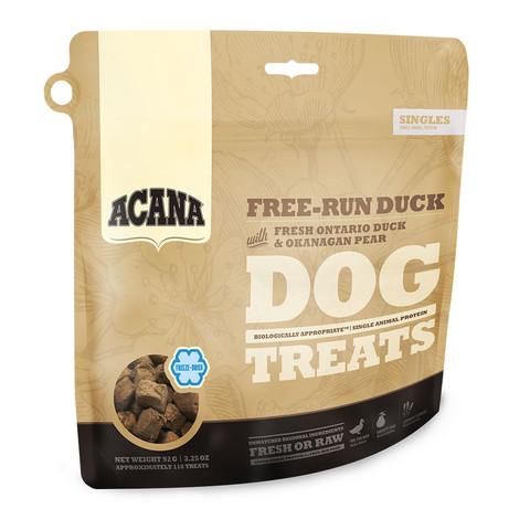 Acana Grain Free Free-run Duck Freeze Dried Natural Dog Treats 35g