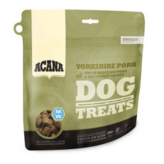Acana Grain Free Yorkshire Pork Freeze Dried Natural Dog Treats 35g