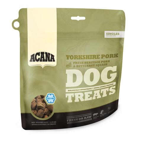 Acana Grain Free Yorkshire Pork Freeze Dried Natural Dog Treats 35g