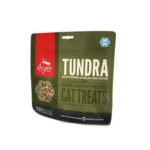 Orijen Grain Free 100% Meat Tundra Freeze Dried Natural Cat Treats 35g