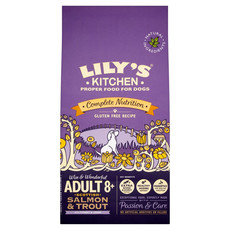 Lilys Kitchen Adult 8+ Salmon And Trout Grain Free Dry Food For Dogs 7kg