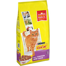 Go Cat Complete Adult Cat Food With Chicken And Duck 2kg To 4 X 2kg