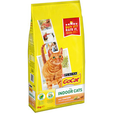 Go Cat Complete Indoor Adult Cat Food With Chicken And Greens 2kg To 4 X 2kg