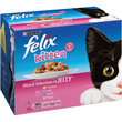 Felix Kitten Food Pouches Mixed Chicken In Jelly 12x100g