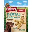 Bakers Dental Delicious Dog Treats With Beef 6 X Medium