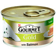 Gourmet Gold Cat Food Terrine With Salmon 12 X 85g