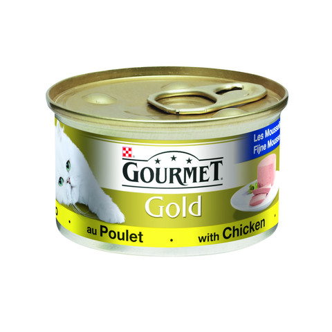 Gourmet Gold Cat Food Pate With Chicken 85g To 12 X 85g