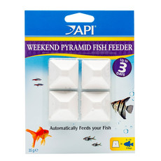 Api Fishcare 3 Day Weekend Pyramid Fish Feeder