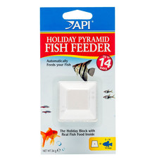 Api Fishcare 14 Day Holiday Pyramid Fish Feeder