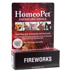 Homeopet Anxiety Tfln Fireworks Loud Noise Relief Drops 15ml