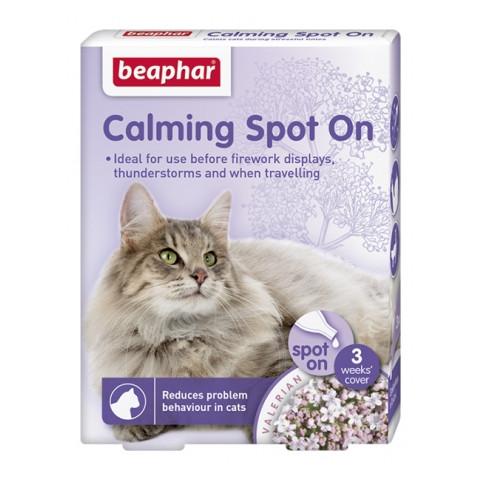 Beaphar Calming Valerian Spot On For Cats 3 Pipette