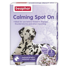 Beaphar Calming Valerian Spot On For Dogs 3 Pipe