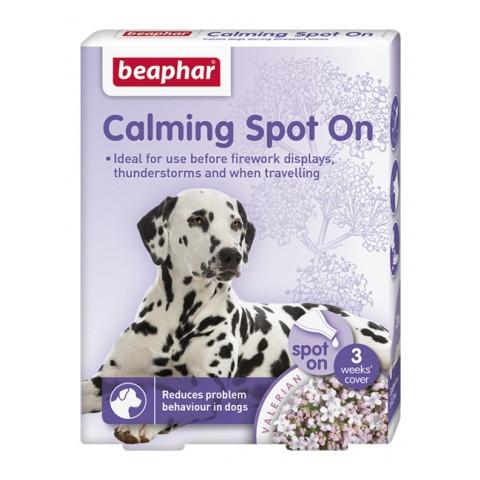 Beaphar Calming Valerian Spot On For Dogs 3 Pipe