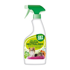 Get Off Natural Pet Bed Odour Neutraliser Spray 500ml