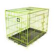 Dog Life Dog Crate Double Door Lime Green Medium