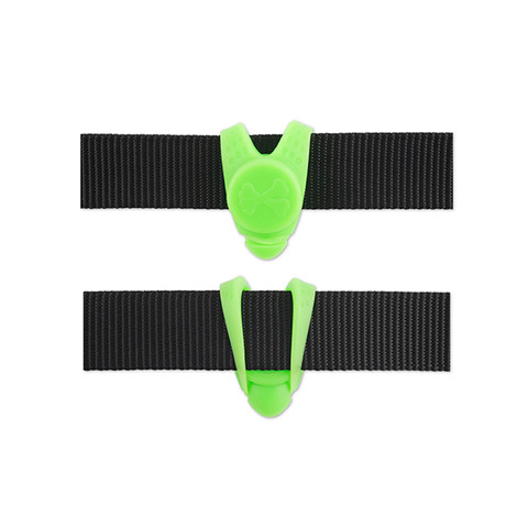 Ancol High Visibility Green Silicone Blinker Flashing Dog Tag  To 6 X