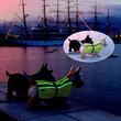 Pet Life Flecta Vizlite Glow In The Dark Dog Coat 16 Inch