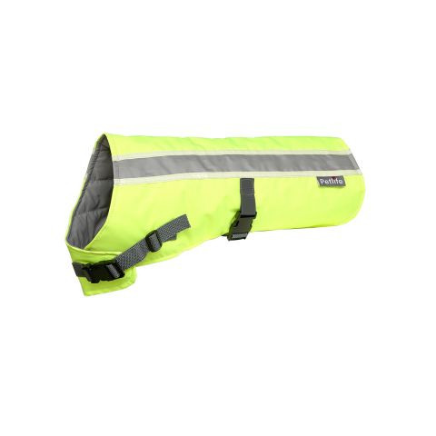 Pet Life Flecta Vizlite Glow In The Dark Dog Coat 16 Inch