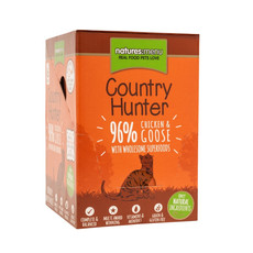 Natures Menu Country Hunter Superfood Grain Free Chicken And Goose Cat Pouches 6 X 85g