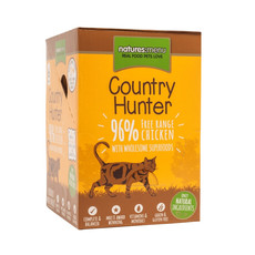 Natures Menu Country Hunter Superfood Grain Free Chicken Cat Pouches 6 X 85g