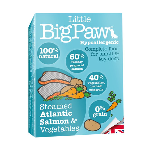 Little Bigpaw Hypoallergenic Salmon Grain Free All Lifestage Wet Dog Food 7 X 150g