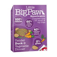Little Bigpaw Hypoallergenic Duck Grain Free All Lifestage Wet Dog Food 7 X 150g