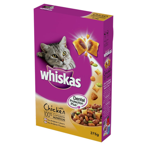 Whiskas 1+ Cat Complete Dry With Chicken 2kg