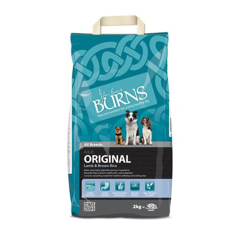 Burns Original With Lamb Dog Food 2kg To 15kg