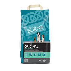 Burns Original With Fish Dog Food 2kg To 15kg