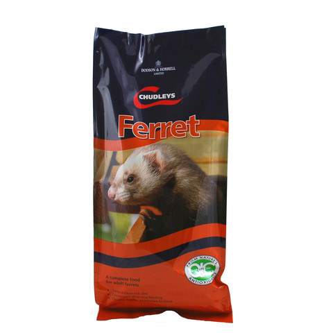Chudleys Ferret Food 2kg To 15kg