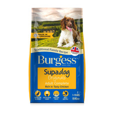 Burgess Supadog Adult Dog Food With Chicken 2.5kg To 15kg