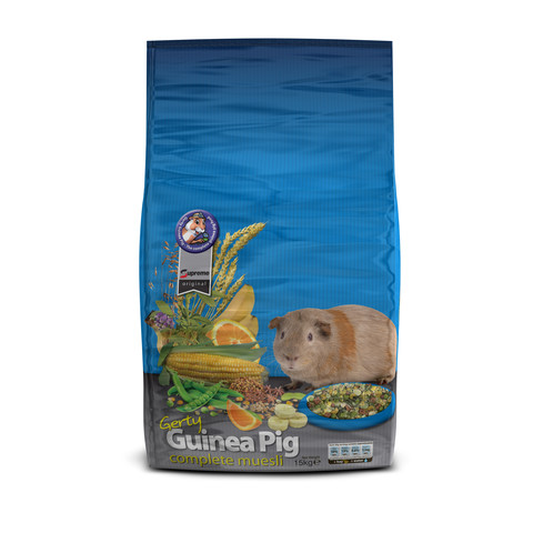 Supreme Tiny Friends Farm Gerty Guinea Pig Tasty Muesli Mix 2.5kg To 12.5kg