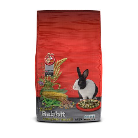 Supreme Russel Rabbit Complete Muesli Food 2.5kg To 12.5kg