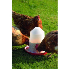 Savic Poultry Plastic Fountain Feeder 3 Ltr To 6 Ltr
