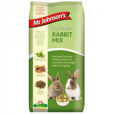Mr Johnsons Supreme Rabbit Mix Food 2.25kg