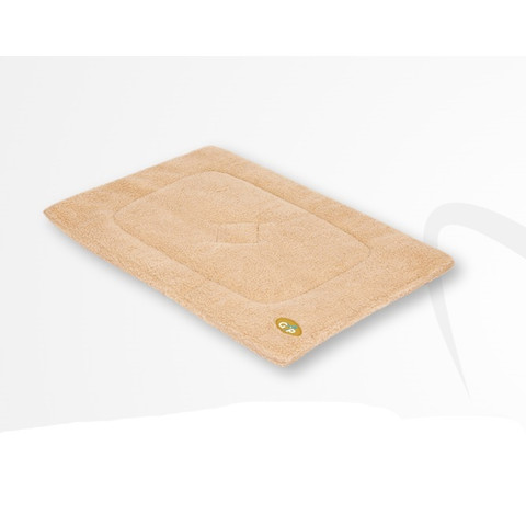Gor Pets Sherpa Cage/crate Mat In Beige 46x61cm To 76x122cm