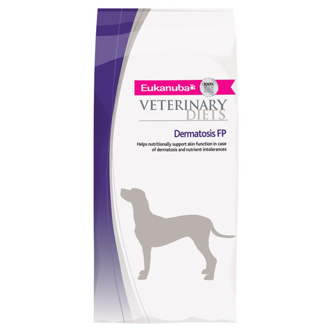 Eukanuba Veterinary Diets Dermatosis Fp For Dogs Dry Food 1kg To 12kg