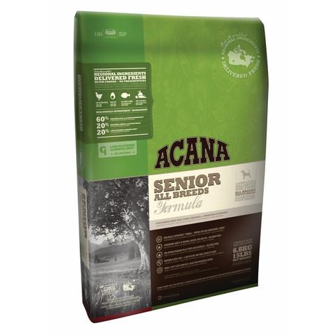 Acana Heritage Grain Free Senior All Breeds Dog Food 2kg To 6kg